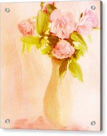 Fleurs Pastel Acrylic Print