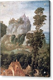 'flight Into Egypt', 16th Century, Painting Acrylic Print by Photos.com