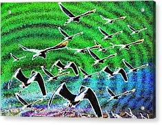 Flight Into Oblivion Acrylic Print