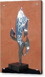 Flight Of Daphne Acrylic Print by John Neumann