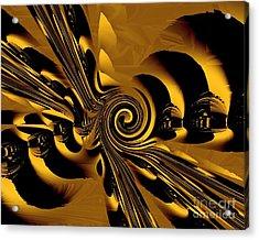 Flight Of The Bumblebee Acrylic Print