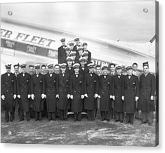 Flight Stewards Acrylic Print by Archive Photos