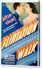 Flirtation Walk, Dick Powell, Ruby Acrylic Print by Everett