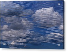 Floating Clouds Acrylic Print by Michael Mogensen