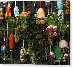 Floats And Roses Acrylic Print by Patricia Januszkiewicz
