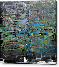 Flood Acrylic Print