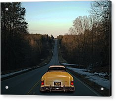 Acrylic Print featuring the photograph Floor It by Bill Dutting