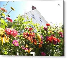 Flora House Acrylic Print