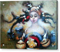 Flora Mae Acrylic Print