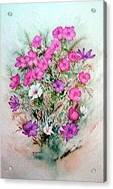 Floral 11052011 Acrylic Print