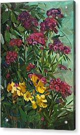 Floral Dance Acrylic Print