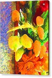 Floral Delights 2095 Acrylic Print by Maciek Froncisz