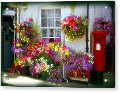 Acrylic Print featuring the photograph Floral by Rod Jones