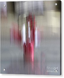 Florals In Motion 1 Acrylic Print by Cedric Hampton