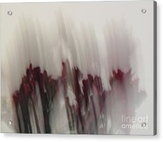 Florals In Motion 5 Acrylic Print by Cedric Hampton