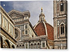 Florence Duomo Acrylic Print by Steven Sparks