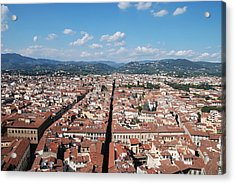 Florence From The Duomo Acrylic Print by Dany Lison