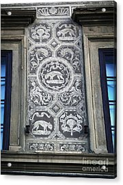 Florence Italy - Architectural Detail - 01 Acrylic Print by Gregory Dyer