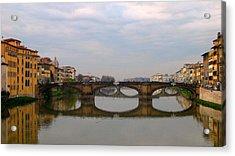 Florence Italy Bridge Acrylic Print
