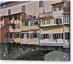 Florence Iv Acrylic Print by David Ritsema