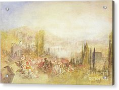 Florence Acrylic Print by Joseph Mallord William Turner
