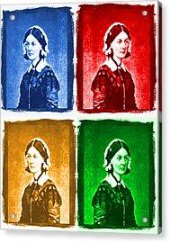 Florence Rocks Acrylic Print by Juliana  Blessington