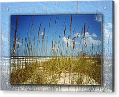 Perfect Day At A Florida Beach Acrylic Print