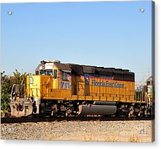 Florida East Coast Sd40-2 711 Acrylic Print