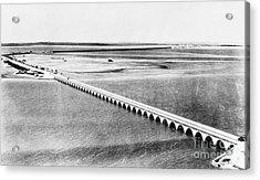 Florida: Overseas Bridge Acrylic Print by Granger