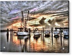 Florida Sunset Acrylic Print