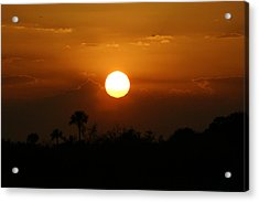 Acrylic Print featuring the photograph Florida Sunset by Jeanne Andrews