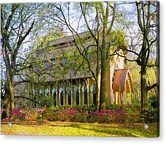 Florida The Baughman Center Acrylic Print by Russell Grace