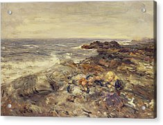 Flotsam And Jetsam Acrylic Print by William McTaggart