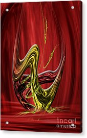 Flow In The Shift Acrylic Print by Johnny Hildingsson