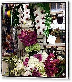 #flower #arrangement #beautiful Acrylic Print