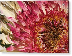 Flower Art Acrylic Print