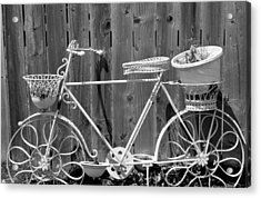 Flower Bike Acrylic Print
