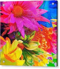 Flower Box Acrylic Print by Empty Wall
