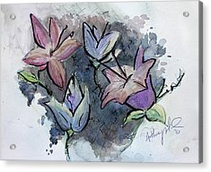 Flower Explosion Acrylic Print by Anthony Nold