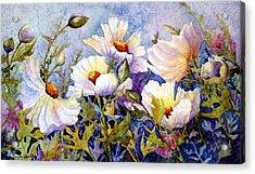 Flower Fantasy Acrylic Print by Daydre Hamilton