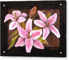Flower Icon Acrylic Print
