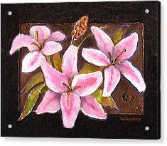 Flower Icon Acrylic Print
