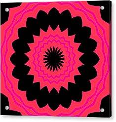 Flower Power Acrylic Print by Carolyn Repka