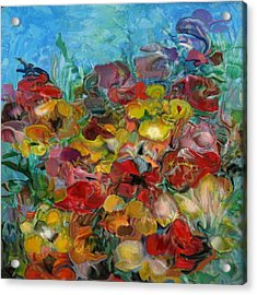 Flowers 2 Acrylic Print by Eric Sosnowski