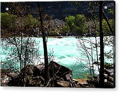 Acrylic Print featuring the photograph Flowing Streams by Pravine Chester
