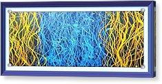Fluid Strings Enhanced Acrylic Print