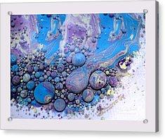 Fluidism Aspect 116 Frame Acrylic Print