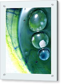 Fluidism Aspect 163 Frame Acrylic Print