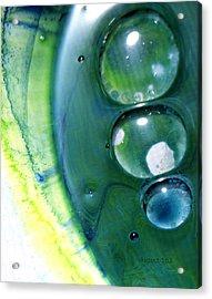 Fluidism Aspect 163 Photography Acrylic Print by Robert Kernodle