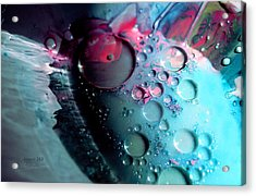 Acrylic Print featuring the photograph Fluidism Aspect 283 Photography by Robert Kernodle